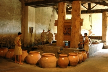 Winemaking what did the ancient romans do for us - Maison romaine antique ...